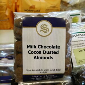 milk choc almond