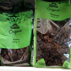 suma org raisins