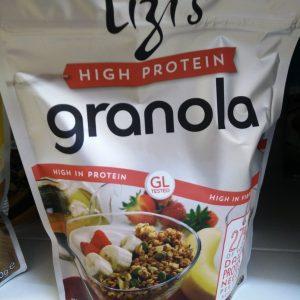lizis granola high protein