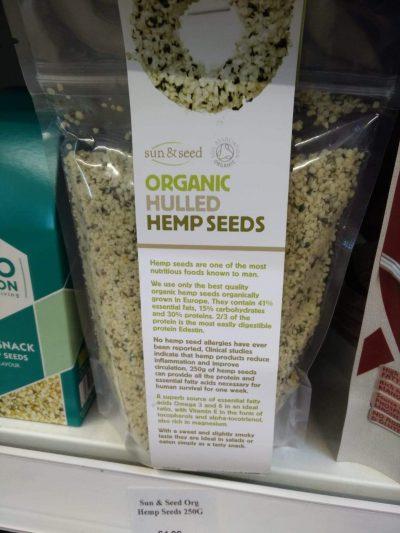 Sun & seed hemp
