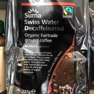 suma decaf coffee