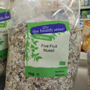 five fruit muesli