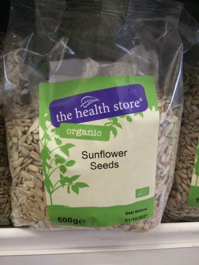 sunflower seedsorganic