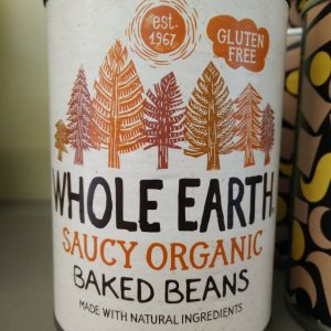 whole earth beans